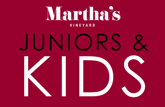 Juniors and kids menu