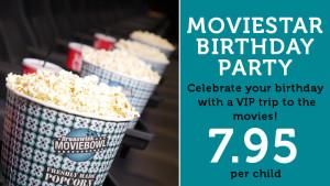 Movie Star Birthday Party