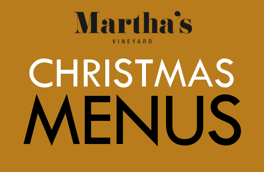 Marthas wine list